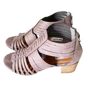 NOT RATED Women's Ofari Gray Sandal